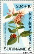 Suriname SU 618  1974 Bloemen 20+10 cent  Gestempeld