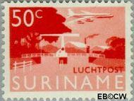 Suriname SU LP43  1965 Landschappen 50 cent  Gestempeld