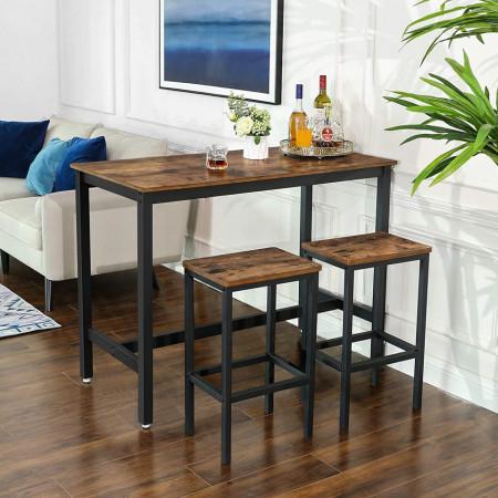 Set 2 scaune de bar Stil Industrial