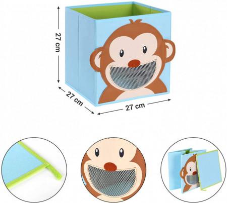 Set de 3 cutii depozitare Kids Box