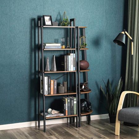 Biblioteca, Raft metalic Industrial Design, 5 polite 56 x 34 x 172 cm (L x l x l)