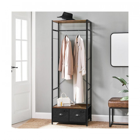 Garderoba Stil Industrial cu 2 sertare