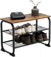 Pantofar tip taburet 66 x 30 x 45 cm Brown