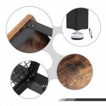 Masuta cafea Living Hexagonala Industrial Design 75 x 75 x 45 cm (L x l x l)