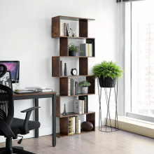 BIBLIOTECA DECORATIVA RUSTIC BROWN