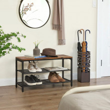 Pantofar, raft pentru incaltaminte Industrial Design 80 x 30 x 44.5 cm