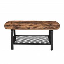 Masa living Industrial Design Tea Table 110 x 60 x 45 cm (L x l x l)