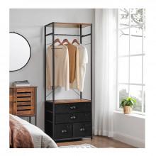 Garderoba cu 4 sertare Stil Industrial