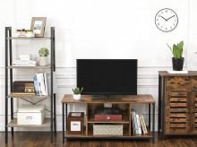 Comoda TV cu rafturi Stil Industrial Brown