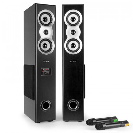 INTEX zvučnici 2.0 - IT-11800 SUF 2.0, 96W USB/SD/FM/Bluetooth