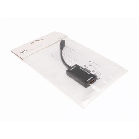 Kabl MHL micro USB na HDMI crni