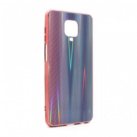 Torbica Carbon glass za Xiaomi Redmi Note 9 pink