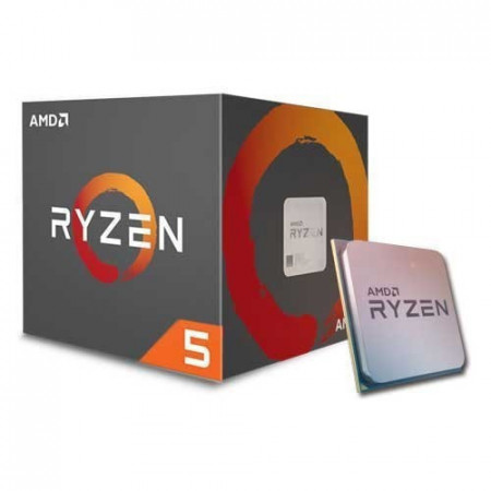 Slika AMD Ryzen 5 1400 3.2 GHz (3.4 GHz) BOX sa Wraith Stealth cooler-om AMD® AM4, AMD® Ryzen 5, 4