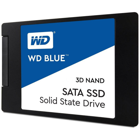 "Slika SSD WD Blue WDS500G2B0A (2.5"", 500GB, SATA III 6 Gb/s, 3D NAND Read/Write: 560 / 530 MB/sec, Random Read/Write IOPS 95K/84K)"