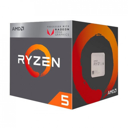 AMD Ryzen 5 2400G 3.6 GHz (3.9 GHz) AMD® AM4, AMD® Ryzen 5, 4