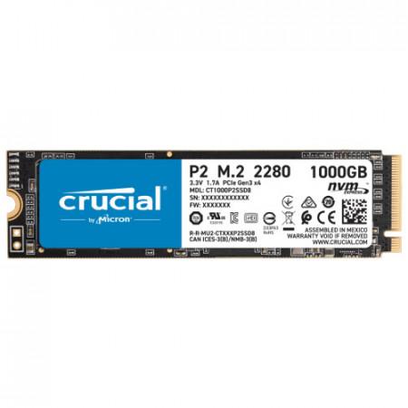 CRUCIAL SSD 1TB P2 serija CT1000P2SSD8