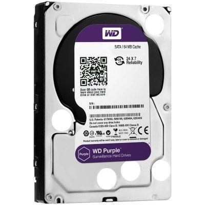 HDD 2 TB WESTERN DIGITAL Purple, WD20PURZ, 64MB, 5400rpm,za video nadzor, SATA 3