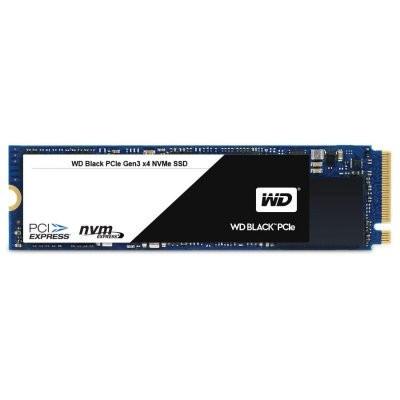 Slika SSD WD Black (M.2, 256GB, PCIe Gen3 x4 NVMe-based, Read/Write: 2050 / 700 MB/sec, Random Read/Write IOPS 170K/130K)
