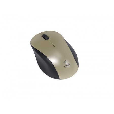 CLICK M-W2-W Miš bežični USB, zlatni (MW2WGL)