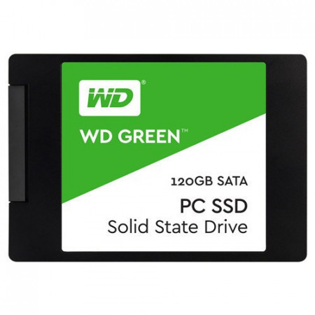 "WD Green SSD 120GB, 2.5"", SATA III - WDS120G2G0A 2.5'', SATA III, 120GB, do 545 MB/s"