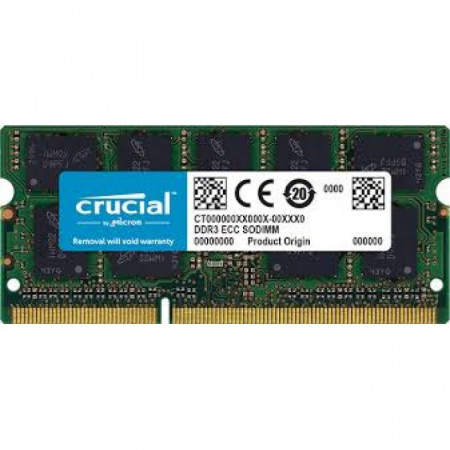 8 GB DDR3/1600 SO-DIMM, CRUCIAL CT102464BF160B, 1.35V, CL11