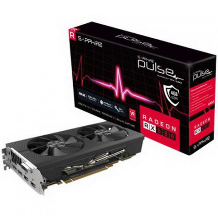 Slika SAPPHIRE PULSE RADEON RX 580 8G GDDR5 DUAL HDMI / DUAL DP OC LITE W/BP (UEFI)