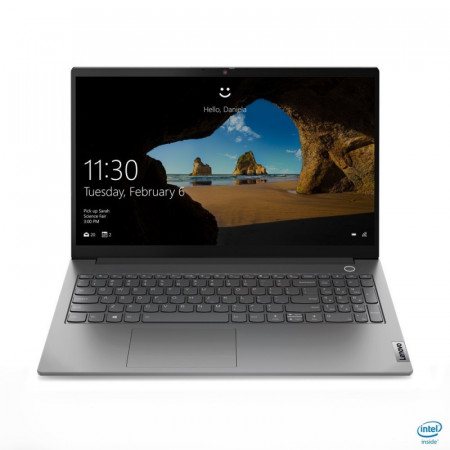 """ThinkBook 15 G2 ITL (MIN.GREY) 20VE0005PB Core i7-1165G7 (2.8/4.7GHz, 12MB), DDR4 16GB (8int+8), SSD 512GB PCIe 2242 + Empty 2280 PCIe Slot, 15.6"""" FHD (1920x1080) LED AG IPS, Iris Xe Graphics, GLAN, WLAN, BT5.1, KybENG BL, FPR, Cam, 45Wh, Win 10 Pro, 2YW"""