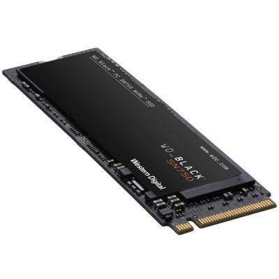 Slika WD SSD BLACK SN750 500Gb M.2 2280 NVMe WDS500G3X0C Read/Write: 3430 / 2600 MB/s, 420k/380k IOPS, TBW 300TB