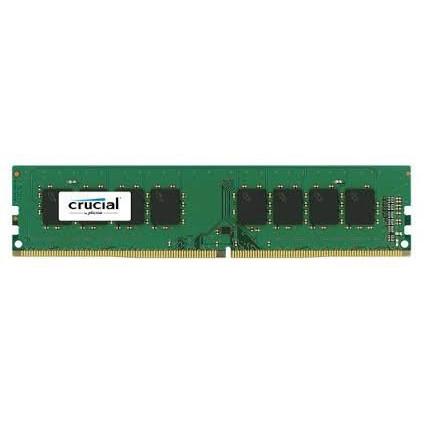 Crucial DRAM 4GB DDR4 2666 MT/s (PC4-21300) CL19 SR x8 UDIMM 288pin CT4G4DFS8266