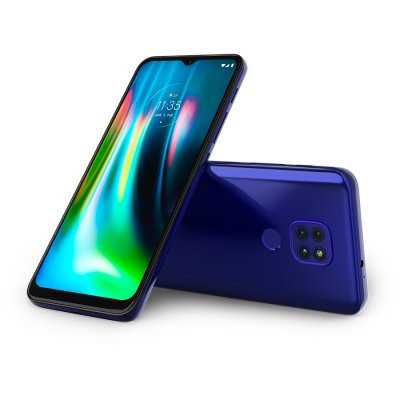 "Motorola Moto G9 Play, XT2083-3_SB, 6.5"" 1600 x720, Dual SIM,LTE, Snapdragon™ 662 8-Core , 4GB/64GB, microSD up to 512GB, Main 48MP+2MP+2MP, Front 8MP, EAN:840023206597, NFC, Type-C, Sapphire Blue"