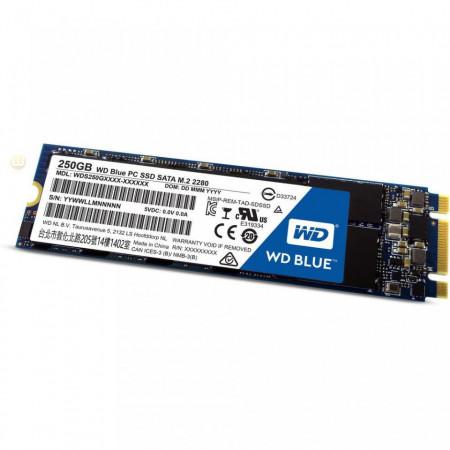 Slika SSD M.2 250GB WD Blue 3D NAND 550/525MB/s, WDS250G2B0B