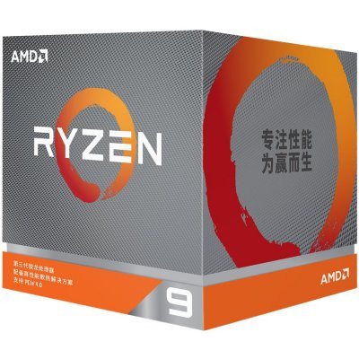 AMD CPU Desktop Ryzen 9 12C/24T 5900X (3.7/4.8GHz Max Boost,70MB,105W,AM4) box 100-100000061WOF