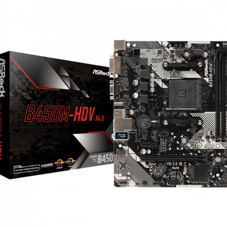 Slika ASRock AMD MB B450M-HDV AM4