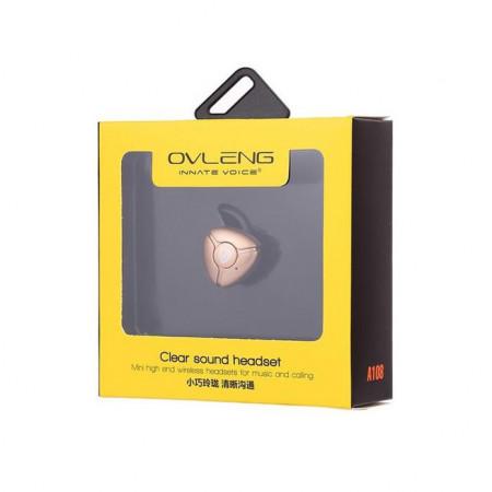 Bluetooth slusalice Ovleng A108 zlatne