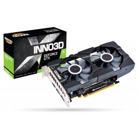 Slika GeForce GTX1650 Inno3D Twin X2 4GB, GDDR5/HDMI/2xDP/128bit/N16502-04D5X-1510VA25