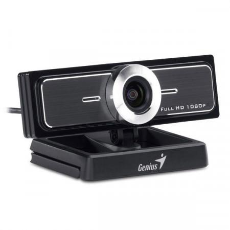 Slika Genius WideCam F100 web kamera crno srebrna