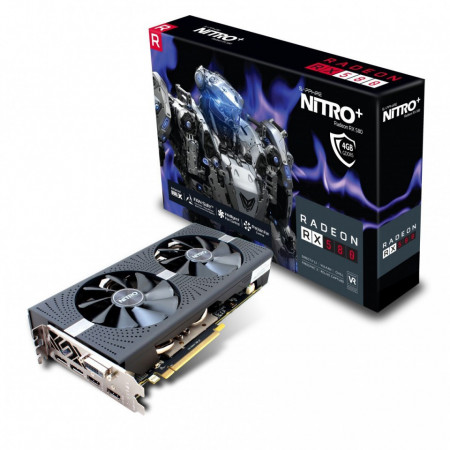 Slika Grafička kartica AMD Radeon RX580 Sapphire NITRO+ 4GB GDDR5,PCI-e 2xHDMI/2xDP/256bit/11265-07-20G