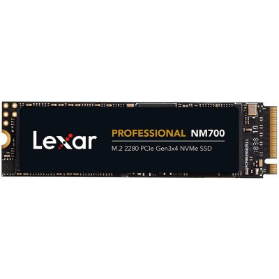 Slika LEXAR NM700 256GB SSD, M.2, PCIe Gen3x4, up to 3500 MB/s read and 1200 MB/s write LNM700-256RB