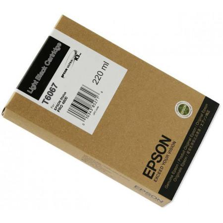 Slika Original light black svetlo crni kertridž EPSON T6067 C13T606700 Stylus PRO 4800 4880 zapremina 220 mililitara