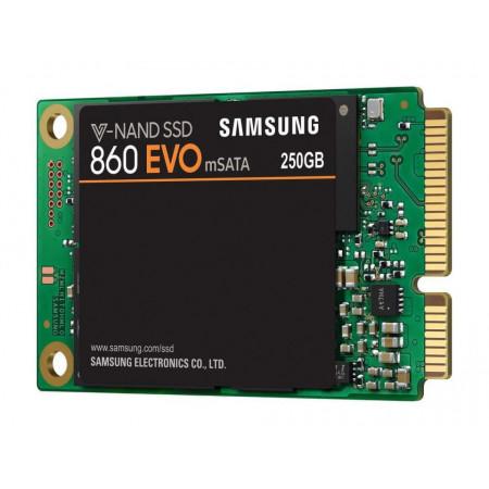 Slika SAMSUNG 860 EVO 250GB, mSATA, SATA III - MZ-M6E250BW 250GB, mSATA, SATA III, do 550 MB/s