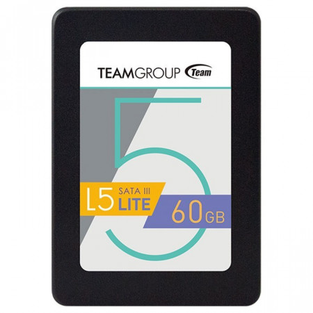 Slika SSD SATA3 60GB Team Group 5 Lite Series, 500/300MBs, T2535T060G0C101