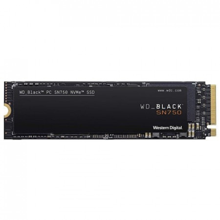 Slika WD Black SN750 NVMe SSD 250GB WDS250G3X0C 250GB, M.2 2280, PCIe, do 3100 MB/s