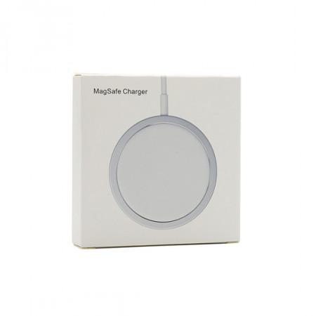 Bezicni punjac (WiFi) Magnetic connection 15W sa Type C kablom beli