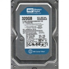 HDD 320 GB WESTERN DIGITAL Blue, WD3200AAJS, 7200 rpm, 8MB, SATA 2