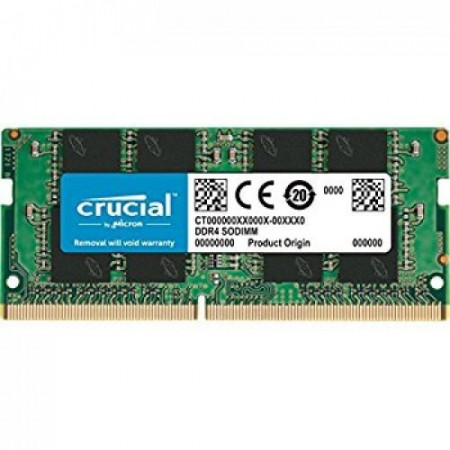 Slika Crucial DRAM 16GB DDR4 2666 MT/s (PC4-21300) CL19 DR x8 Unbuffered SODIMM 260pin CT16G4SFD8266
