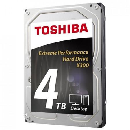 "Slika Hard disk HDD 3.5"" SATA3 7200 4TB Toshiba X300 HDWE140UZSVA, 128MB"