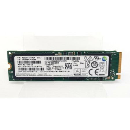 Samsung MZVLW512HMJP-000H7 - 512GB M.2 PCIe NVMe 2280 MLC 3D-Nand SSD Solid State