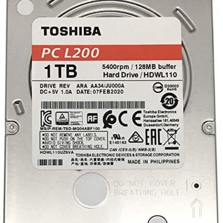 Slika TOSHIBA L200 1TB 5400rpm 128mb HDWL110UZSVA