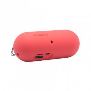 Bluetooth zvucnik BTS07 mini crveni