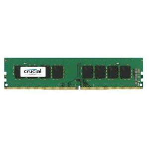 Crucial DRAM 8GB DDR4 2666 MT/s (PC4-21300) CL19 SR x8 Unbuffered DIMM 288pin CT8G4DFRA266